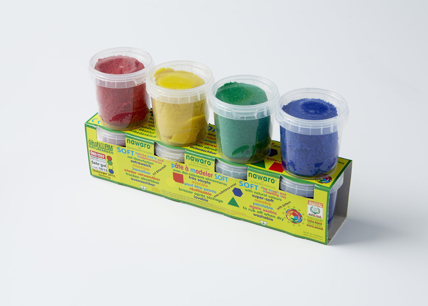 Eco Play Dough | Primary Colours