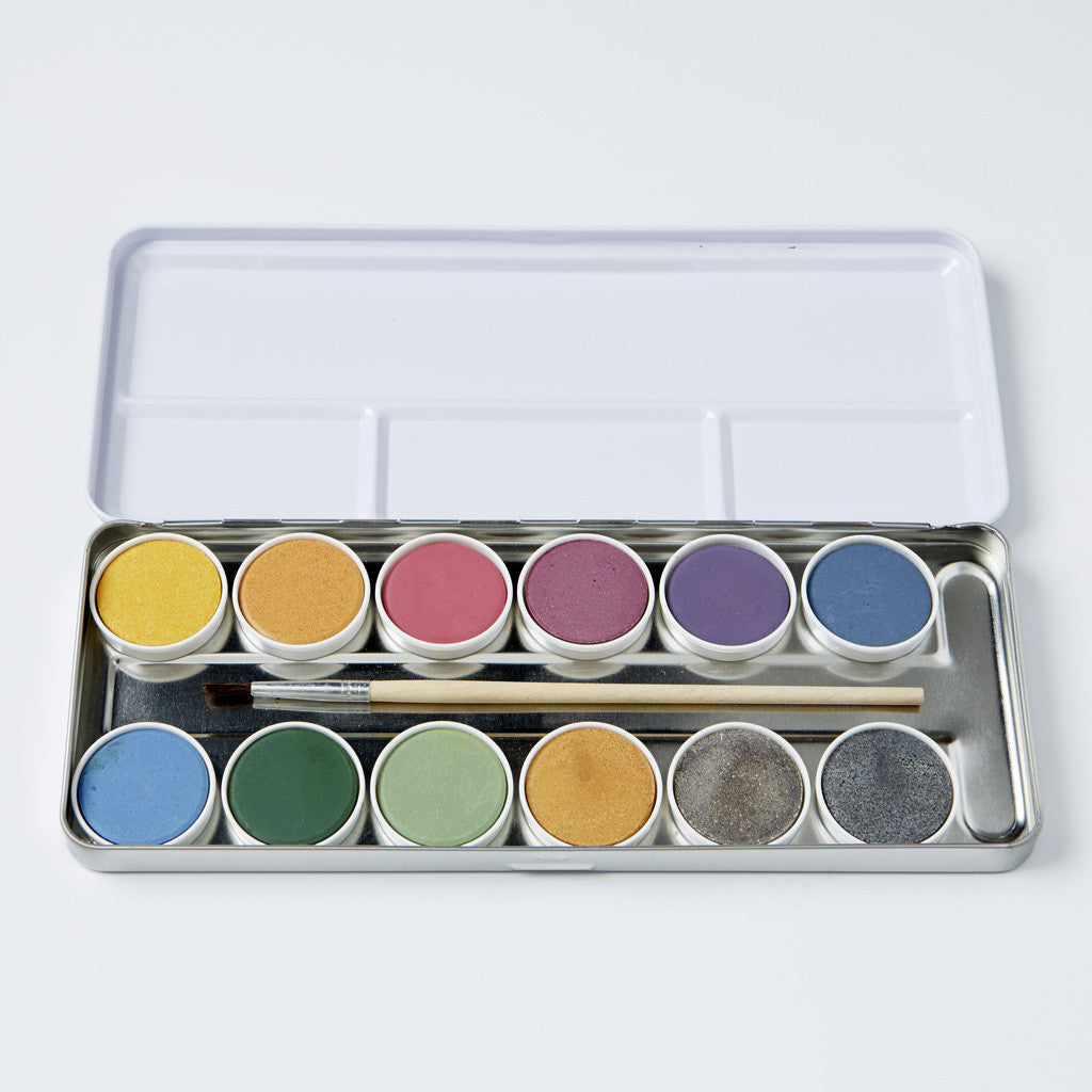 Natural Watercolour Paintbox