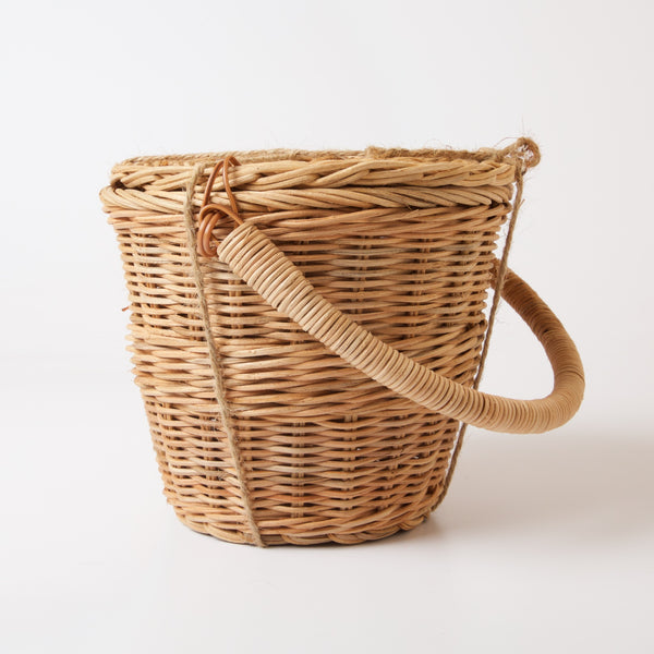 OlliElla Little Apple Basket | Natural | Conscious Craft