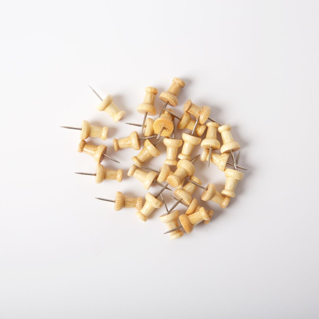 Bamboo Push Pins