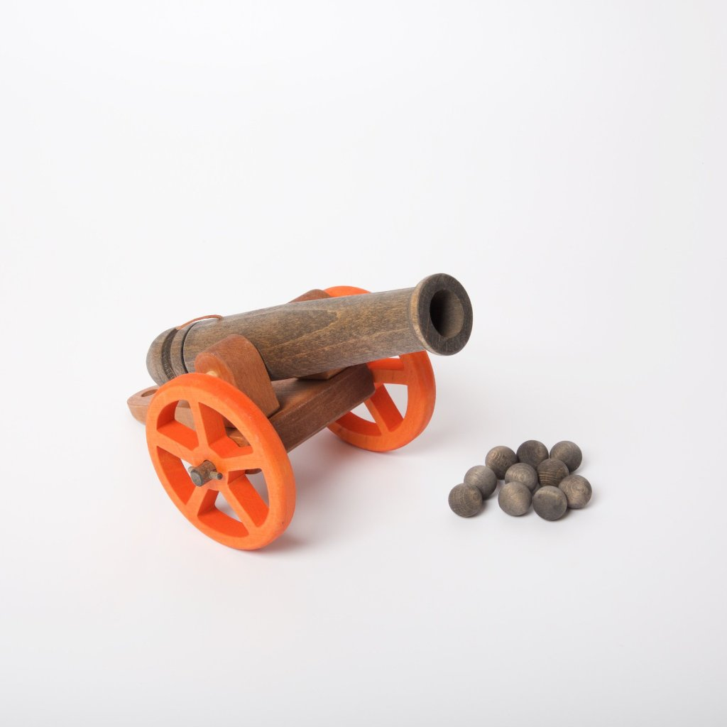 Cannon | Large | With 10 Cannonballs