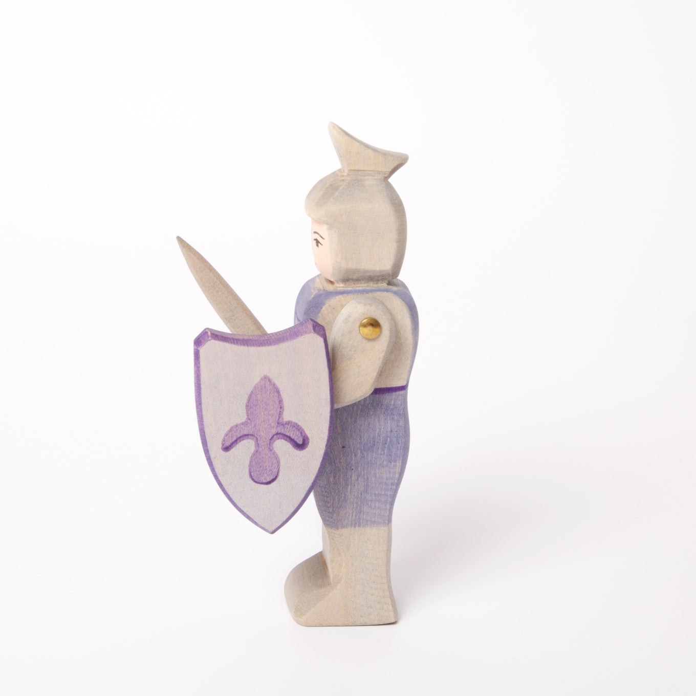 Knight Standing | Blue with Sword