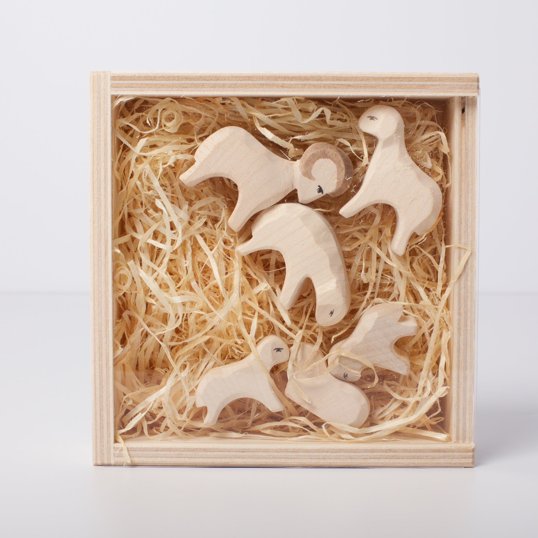 Ostheimer Sheep Mini Nativity Collection Conscious Craft