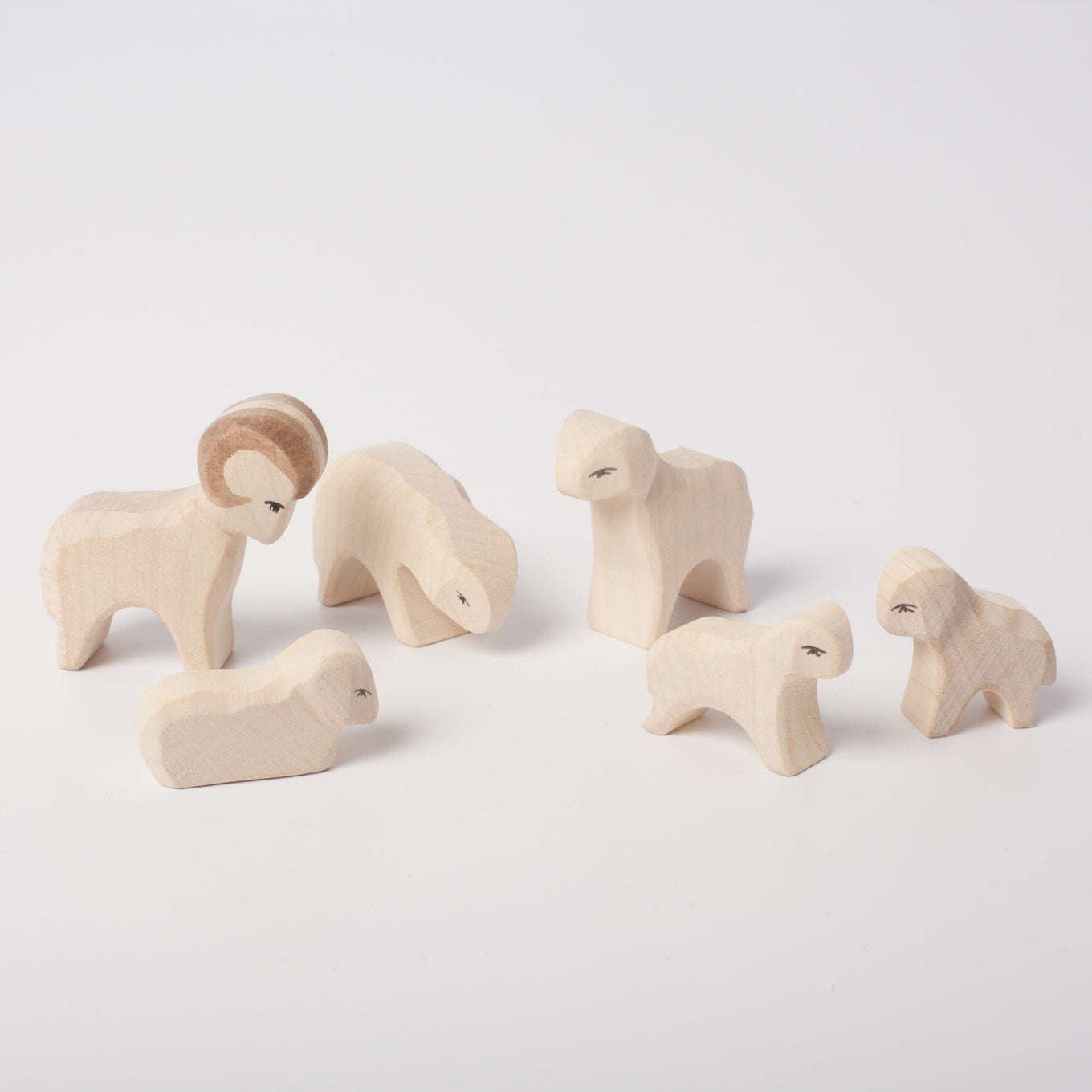 Sheep Mini Nativity Set | 6 Piece