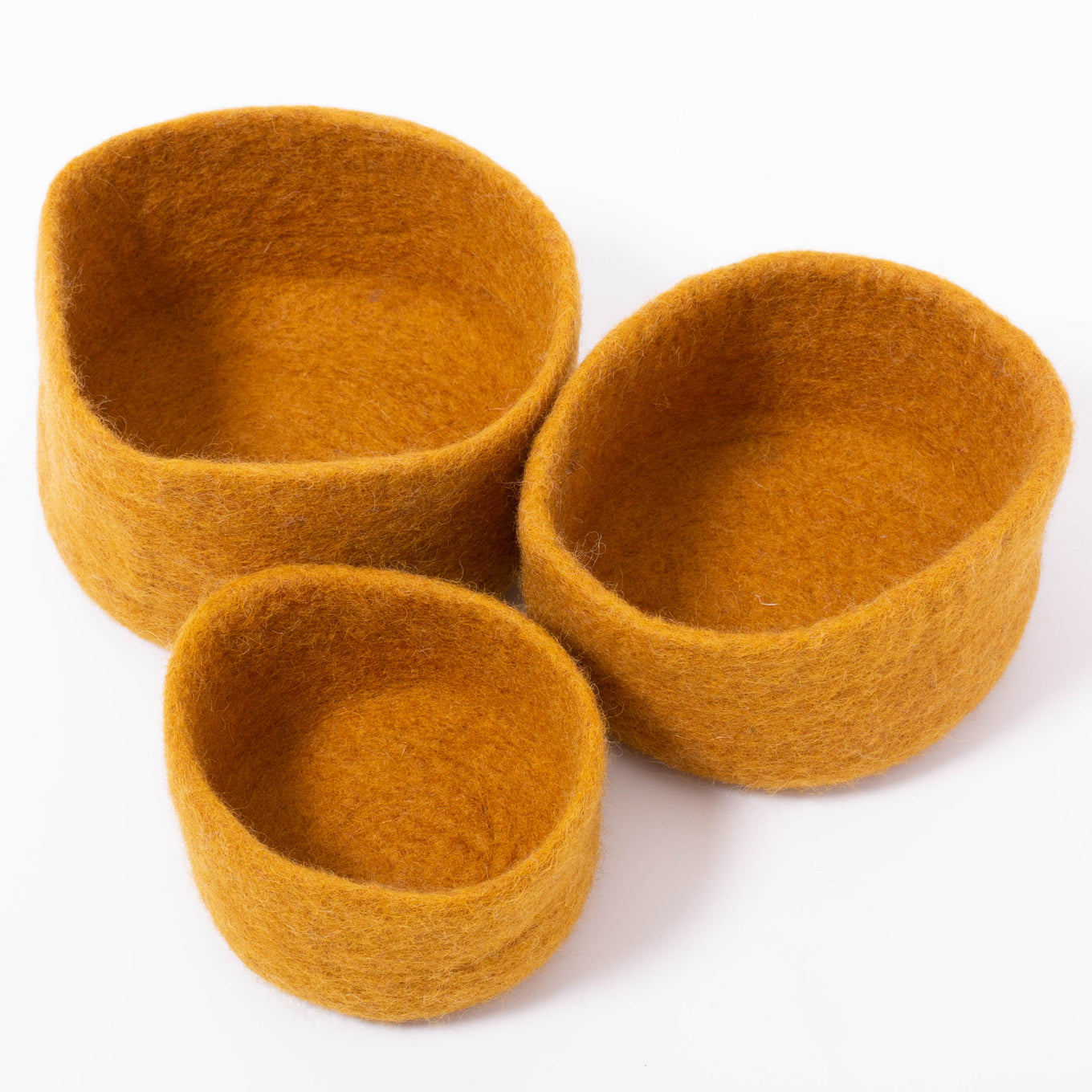 Earth Nested Bowls Mustard/3
