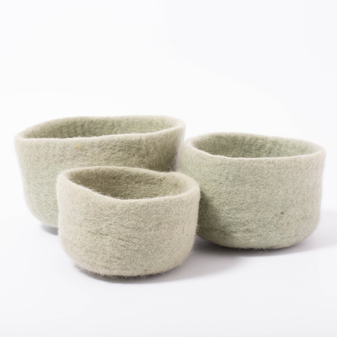 Earth Nested Bowls Sage/3