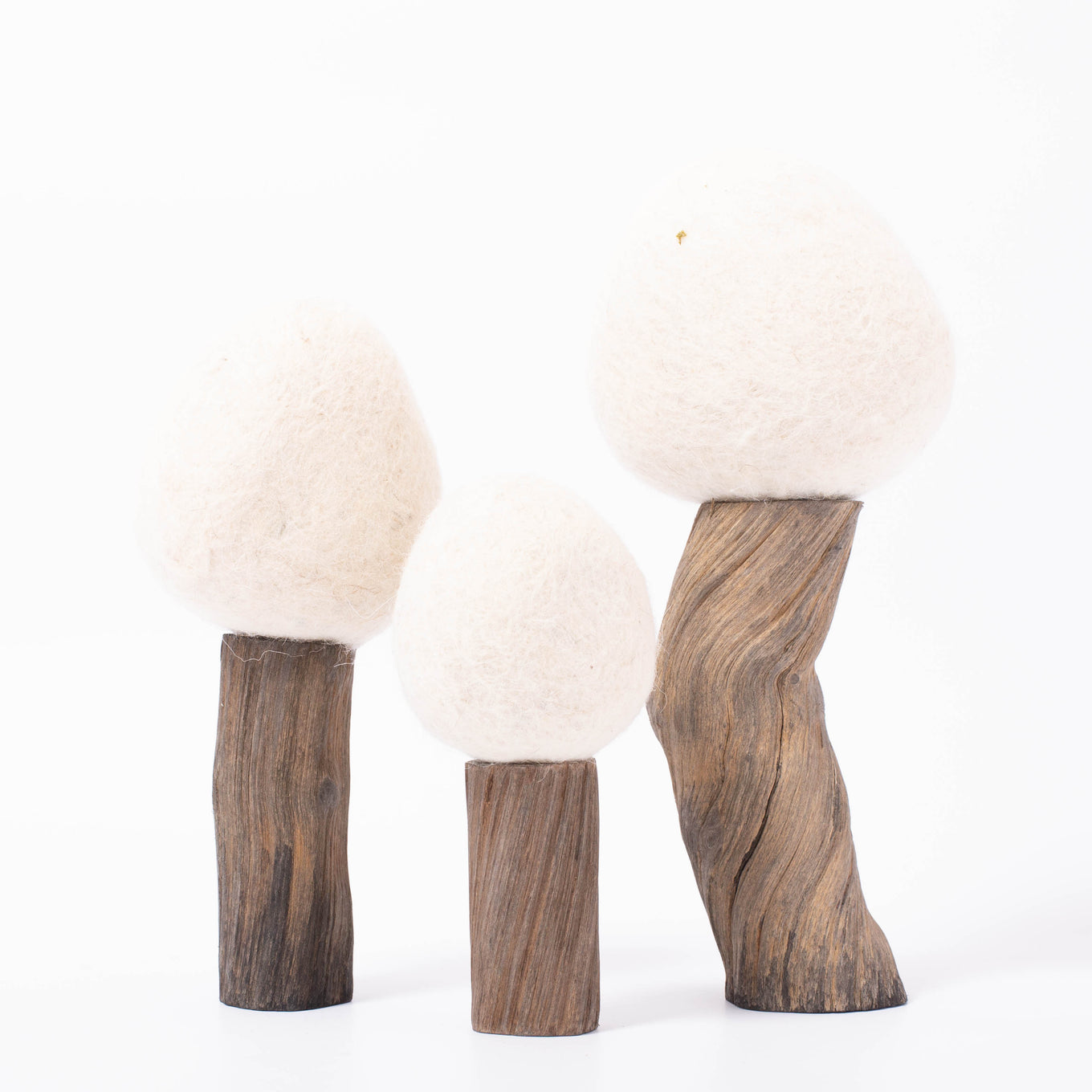 Felt Trees | Earth Winter