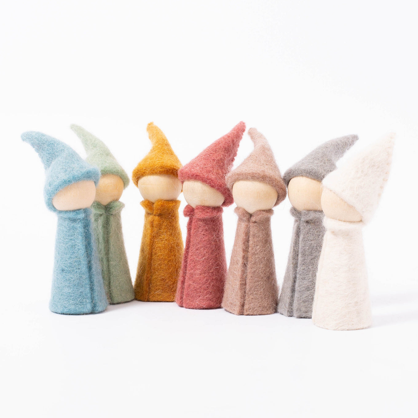 Earth Gnomes | Set of 7