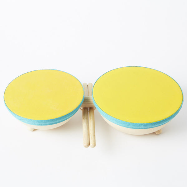 Plan Toys Double Drums - Conscious Craft