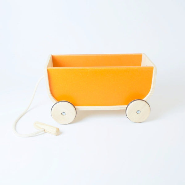 Plan Toys Pull Along Wagon | Conscious Craft