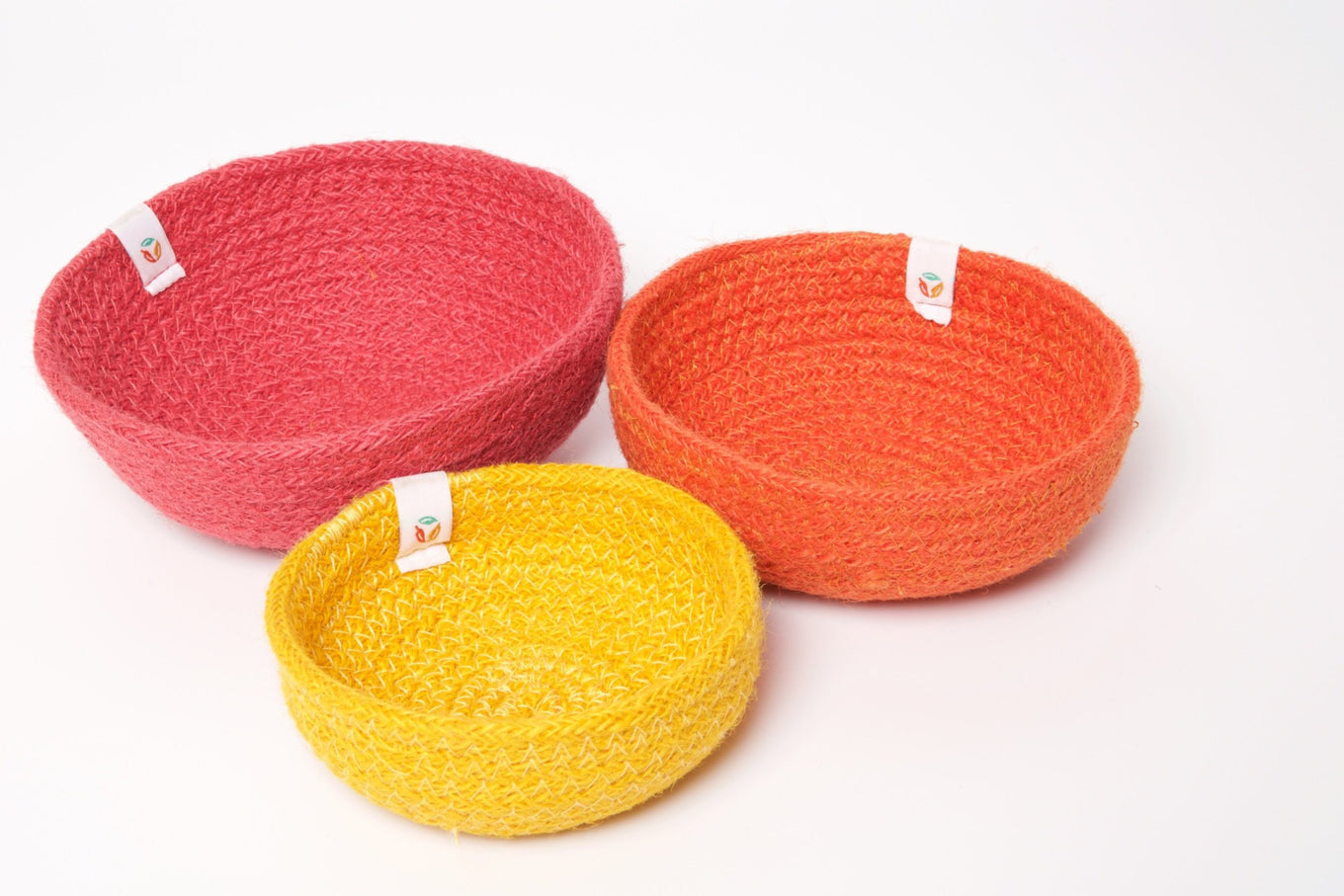 Jute Mini Bowl Set | Fire