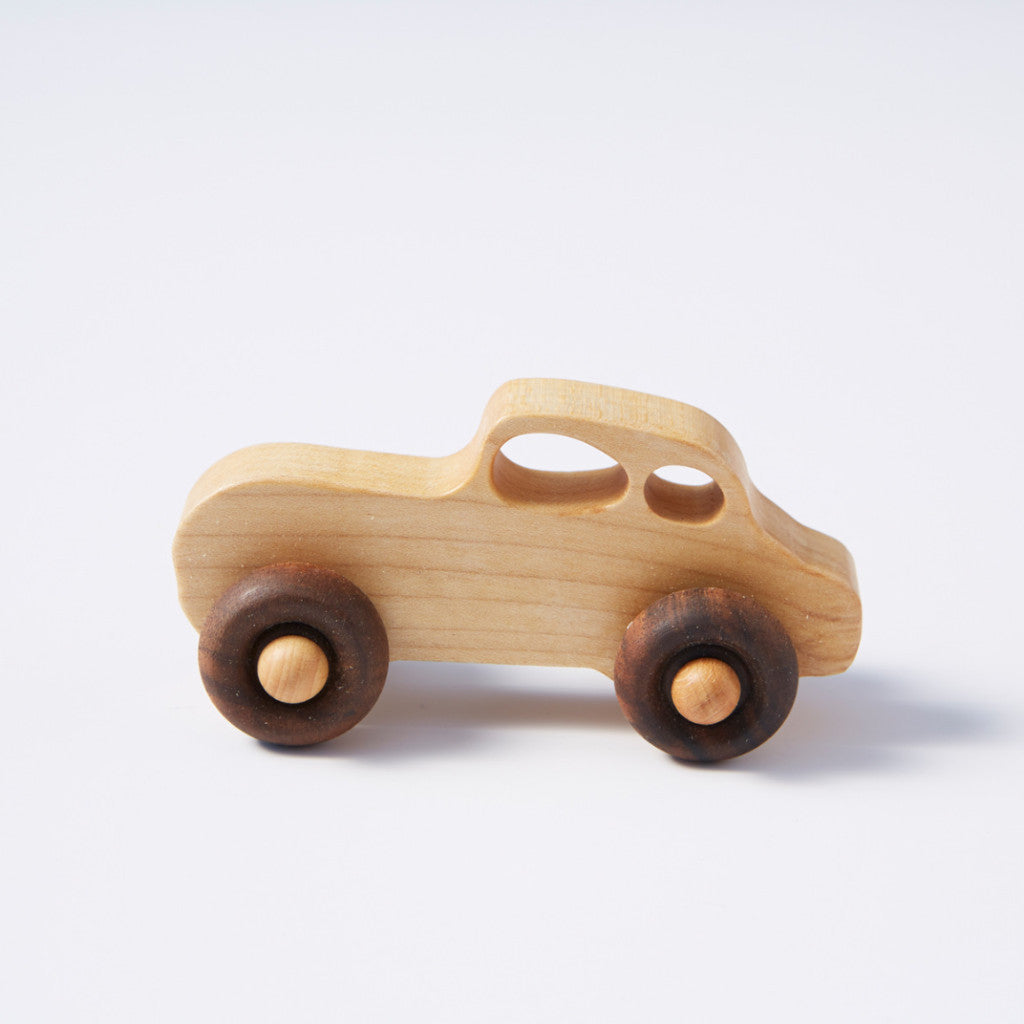 Selection of little Wooden Cars