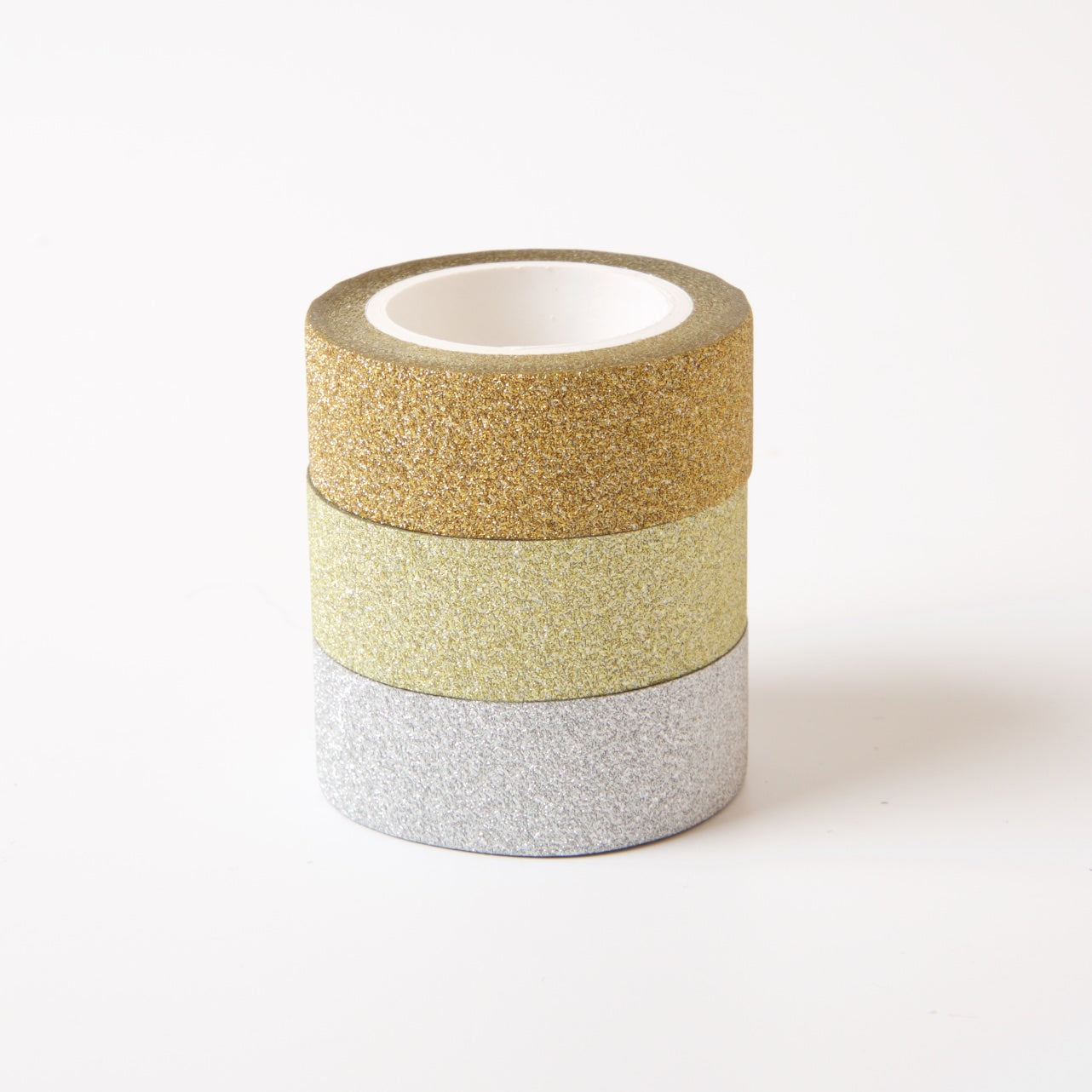 Glitter Washi Tape | Gold & Silver Set