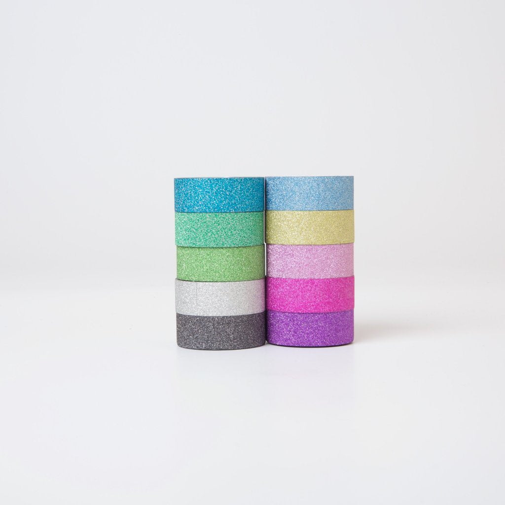 Glitter Washi Tape Set