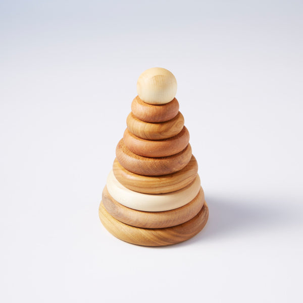 Natural Wooden Stacker from Wooden Story