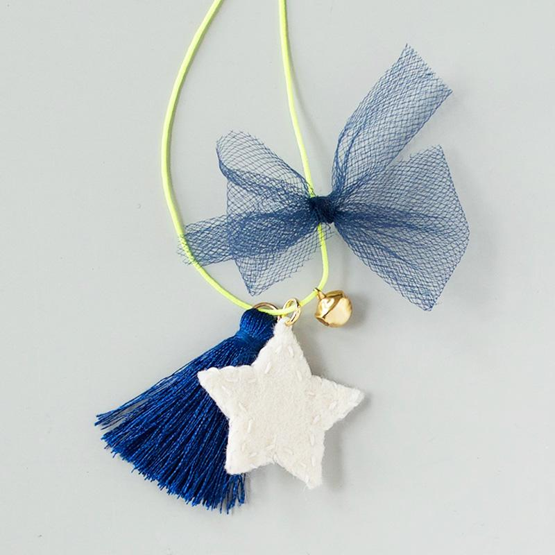 Star Felt Charm Necklace | Craft Kit