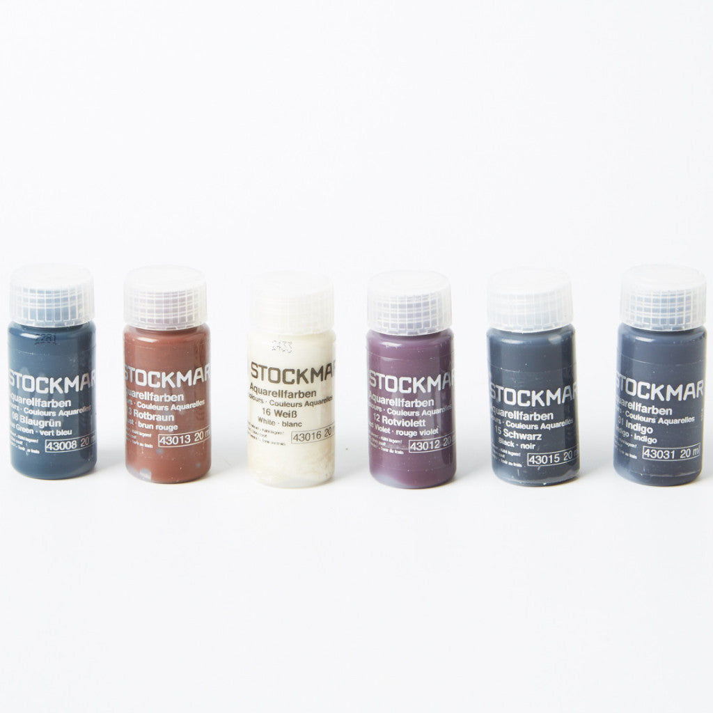 Stockmar Watercolour Paints - Supplementary Colours (Set of 6)