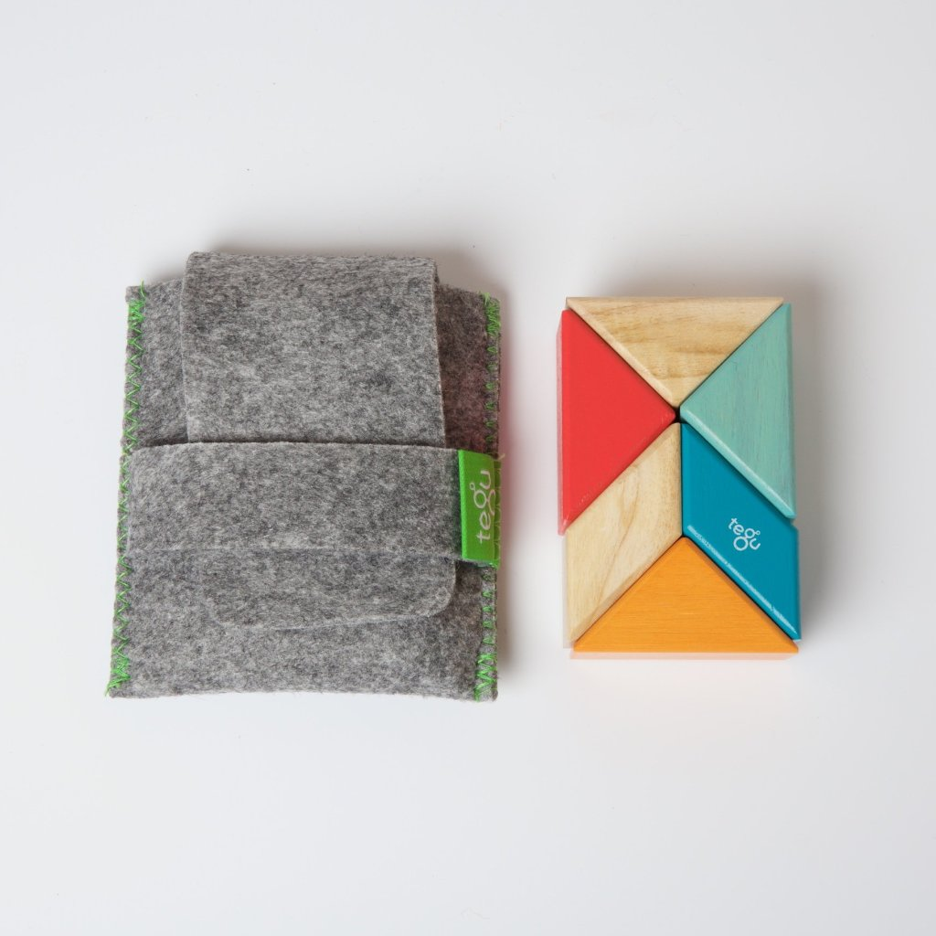 Tegu Pocket Pouch Prism | 6 Piece Sunset