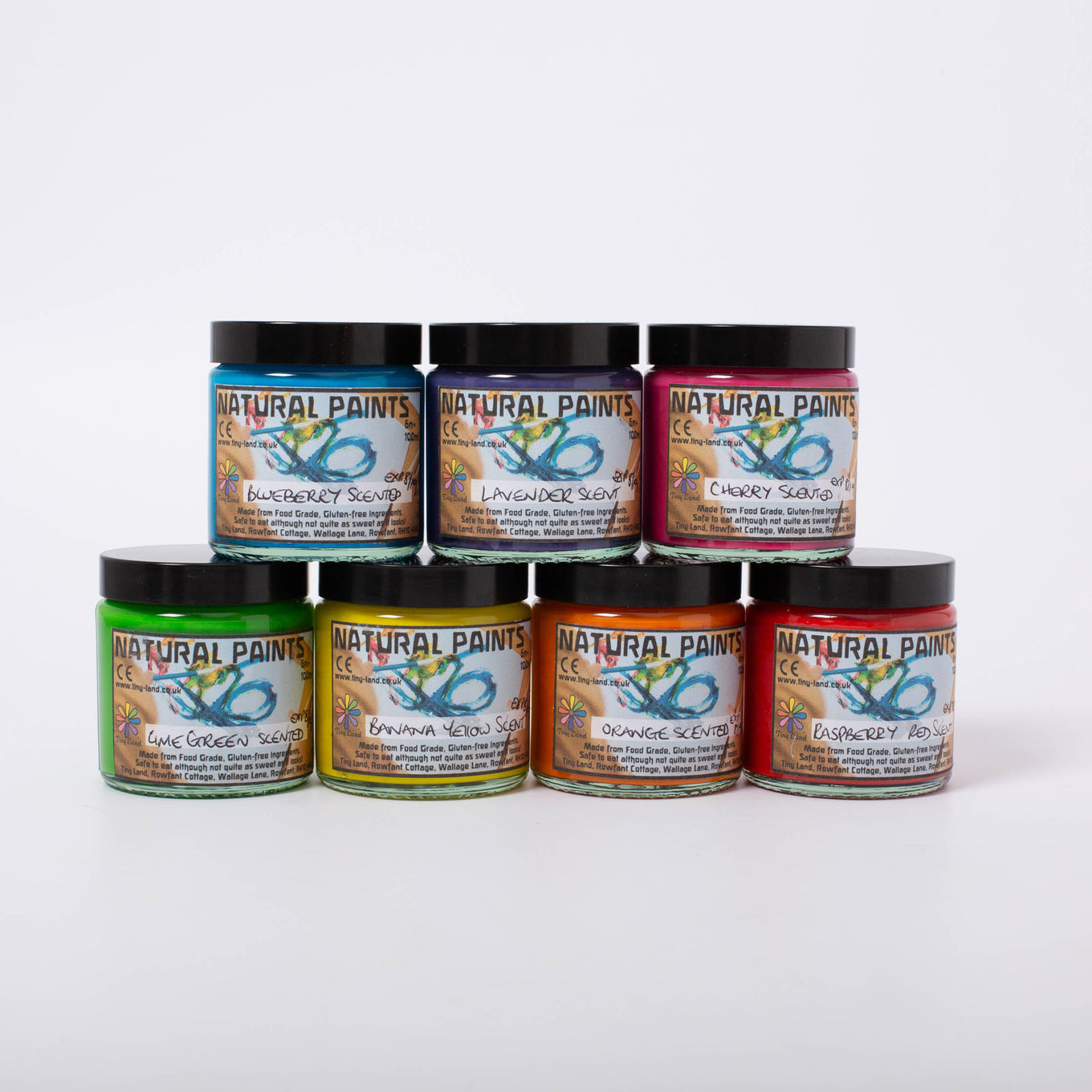 Natural Scented Paint Set