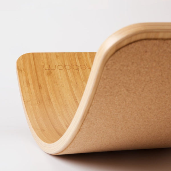 Wobbel Board | Bamboo with Cork | Conscious Craft