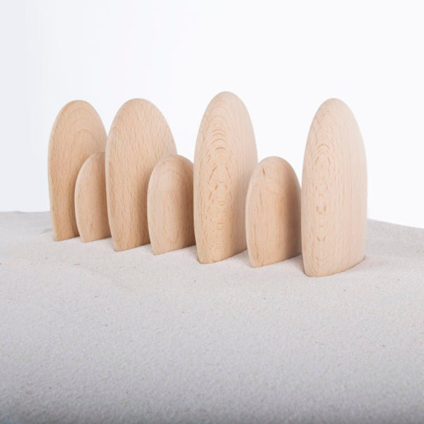 Wooden Stacker River Stones
