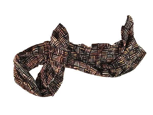 Tribal Chess Silk Scarf