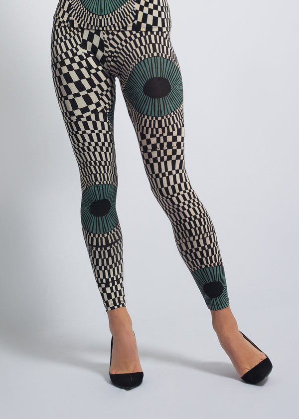 Leggings Vasarely Eye