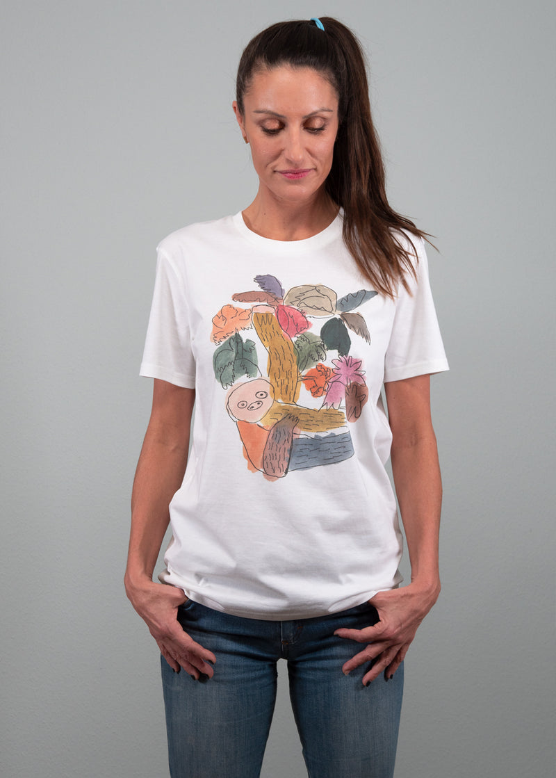Organic Cotton T-Shirt Faultier