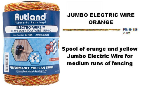 Rutland Electric Jumbo Wire