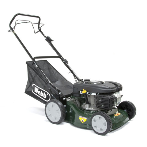 Petrol Lawnmower Webb R41SP