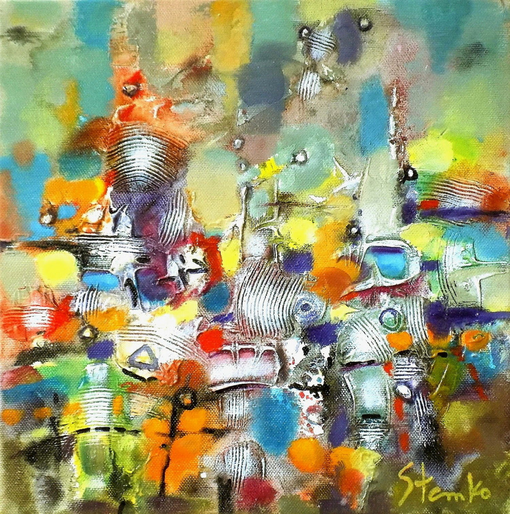 Stanislav Bojankov - Abstract landscape - XVII