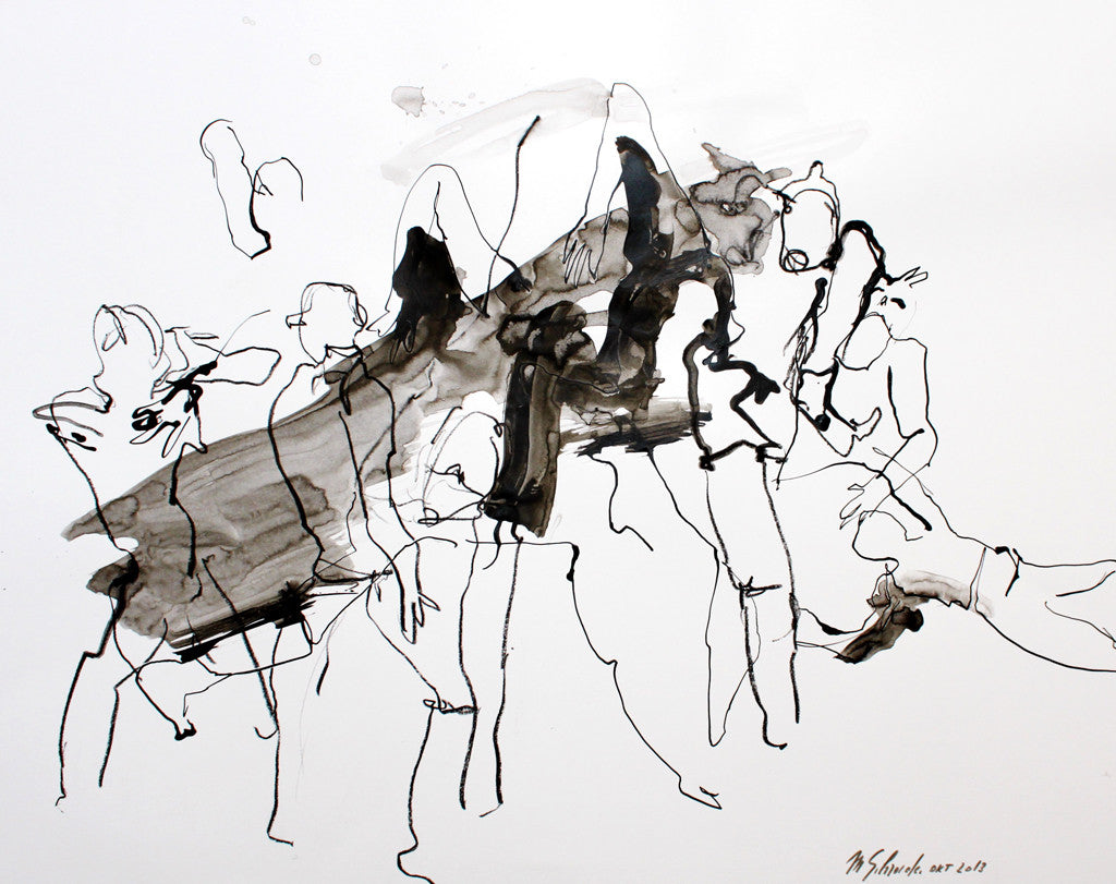 Margot Reding-Schroeder - Dancing People