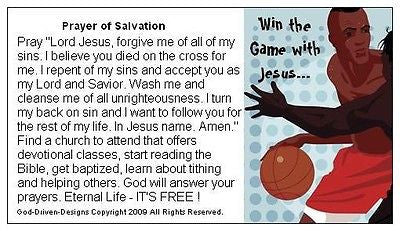 Win the Game with Jesus Basketball Seed Cards (Small Font)