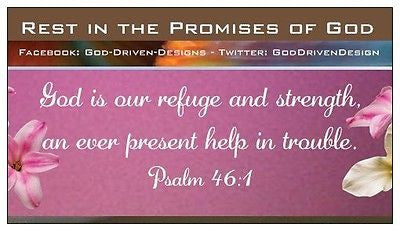 $1 Rest in the Promises of God Magnet