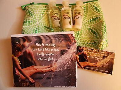$4 This is the Day Gift Set: Bath Body Samples, Cards, Magnet, Clinique Gift Bag