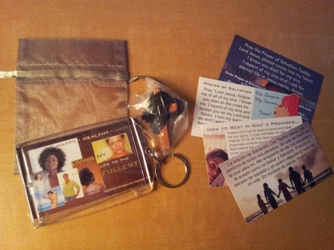 Happy Healthy Healed Key Chain Package (Sample Shown)