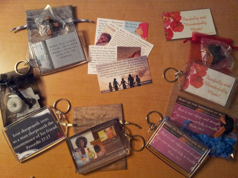 Key Chain Package Custom Made (Samples Shown)