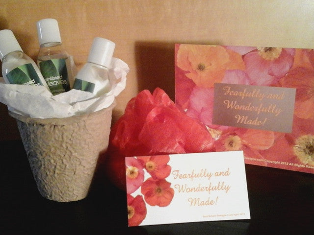 The Fearfully & Wonderfully Inspirational Gift with Spa Samples