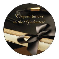 Graduation Party Custom Envelope Seals (Sample Shown)