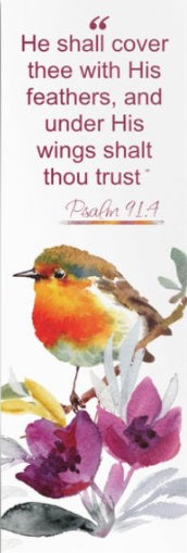 Psalm 91 Bookmark - Bird