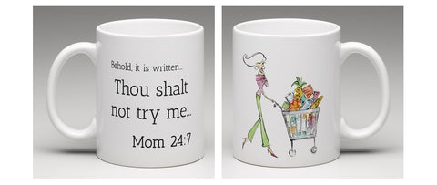 Thou Shalt Not... Best LOL Mom Gift Mug