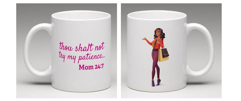 Thou Shalt Not Best Birthday Mug