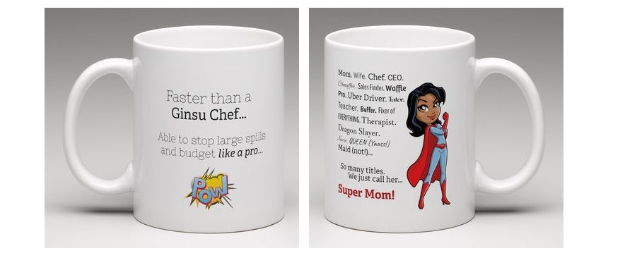 Best Mom Ever - Super Mom Mug