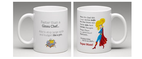 She Has Many Titles - Super Mom Mug