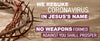 No Weapons Isaiah 54:17 Coronavirus Banner - Crown of Thorns Theme