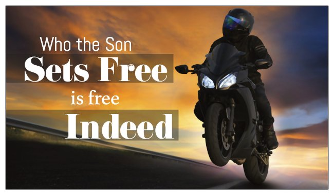 Seed Card: Ride with God Motorcycle Card Biker Wheelie