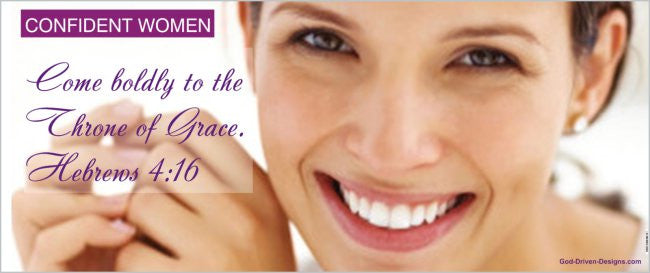 Confident Women Banner - Women's Conference 2.5' x 6' Banner