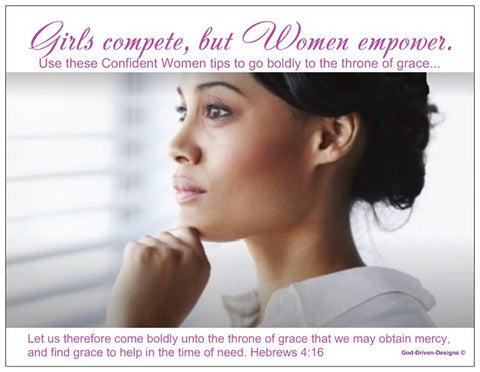 Order Event Cards: Church Event Cards - Confident Women