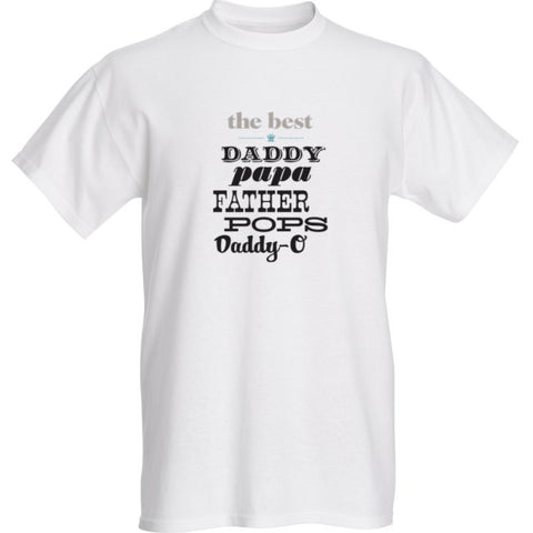 Father's Day The Best Daddy Custom T-Shirt