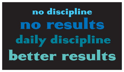 Discipline Daily Inspiration Seed Card - Blue